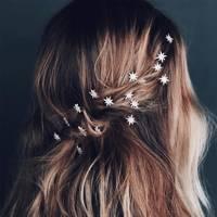 Star hair pins
