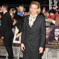 Jamie Campbell Bower at the UK Premiere of Breaking Dawn 2