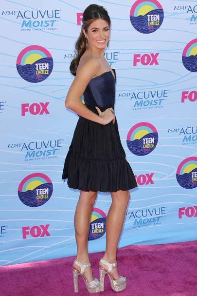 Nikki Reed at the Teen Choice Awards 2012