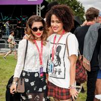 Vanessa White and Nathalie Emmanuel