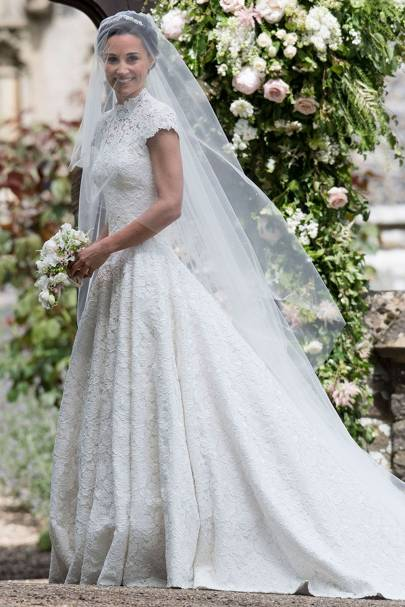 Pippa middleton 39 s wedding dress the pictures photos for Wedding dress like pippa middleton