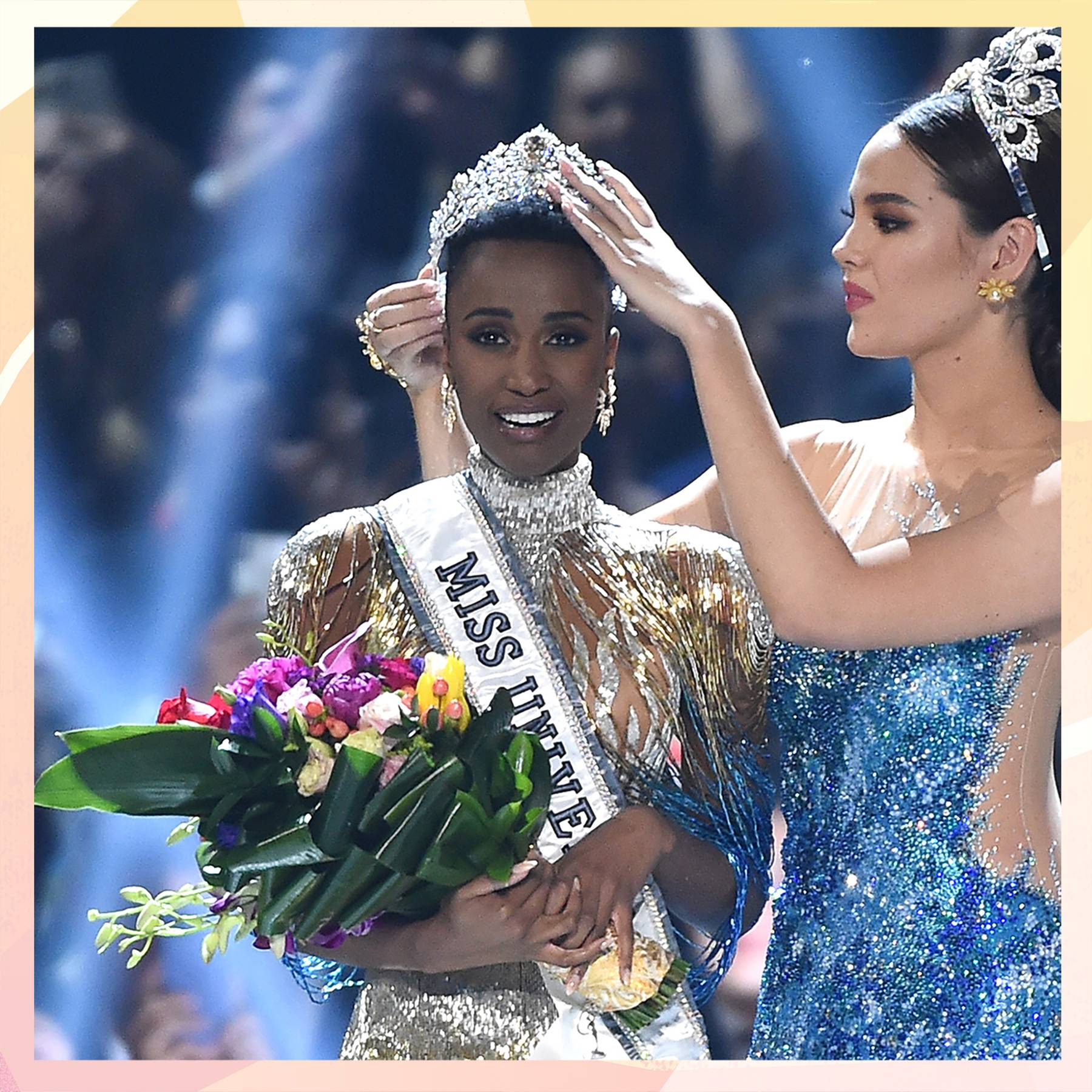 'I grew up in a world where a woman with my skin and hair was never considered beautiful': Miss South Africa has been crowned the new Miss Universe