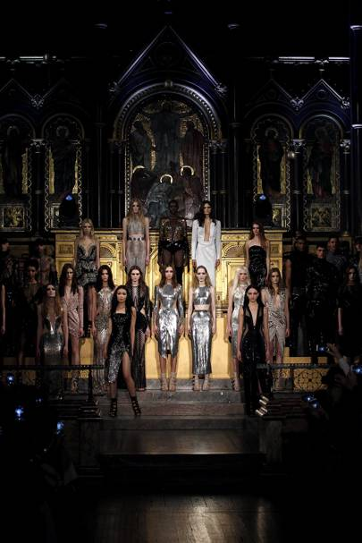 THE SPEECHLESS MOMENT: Julien Macdonald's show