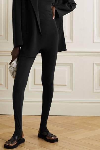 Best stirrup black leggings