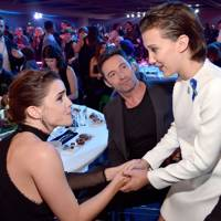 And when she met Emma Watson it was just the cutest