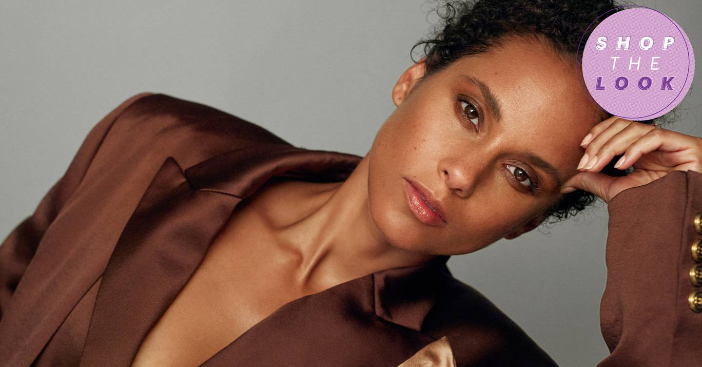 Shop The Look: Alicia Keys embraces the 'many moods of Alicia' as she showcases the season's hottest beauty looks that you can buy