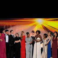 The cast of The Help at the SAGs 2012