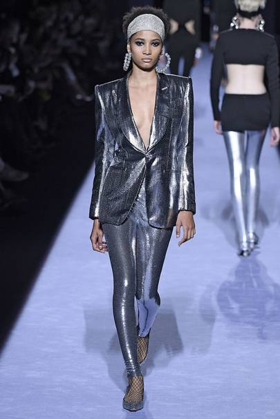 METALLIC SUITING