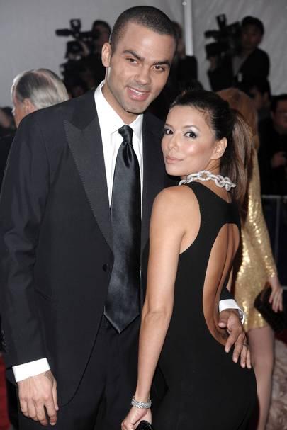 26. Eva Longoria and Tony Parker