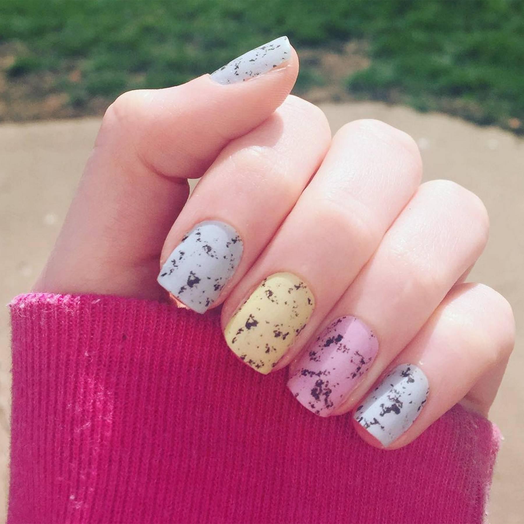 30 easter lovely bunny nail arts catalog photo