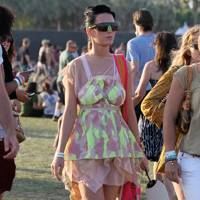 DO #15: Katy Perry in Louis Vuitton at Coachella festival, April