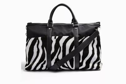 Best weekend bag for a punch of print