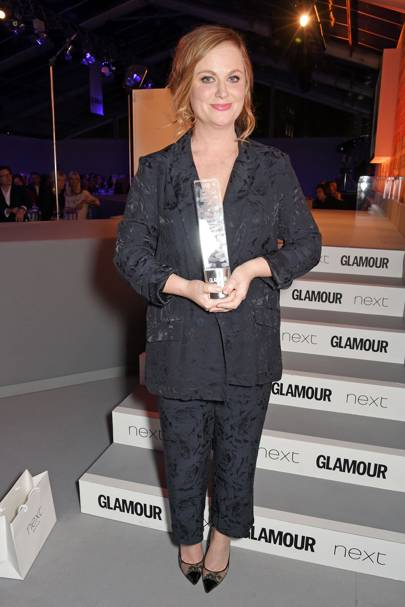 On winning a GLAMOUR Award for Inspiration