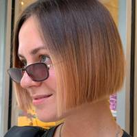 Best bobs for glasses wearers: The ombré bob