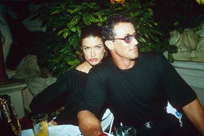 Janice Dickinson & Sylvester Stallone