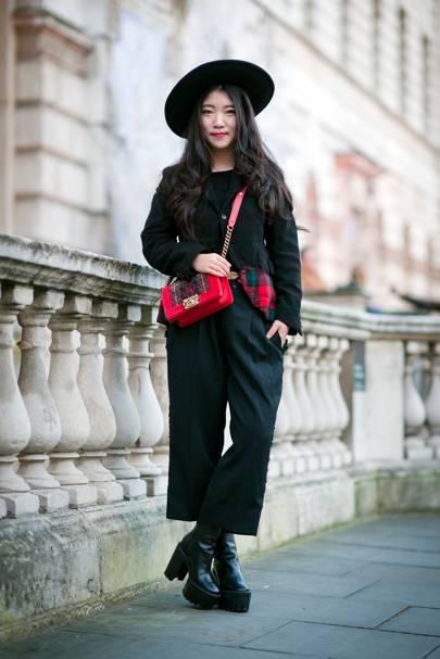 Wen Sun, Fashion Student