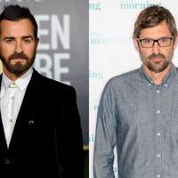 Justin Theroux and Louis Theroux