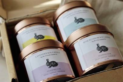 Bestsellers Candle Set by Vegan Bunny