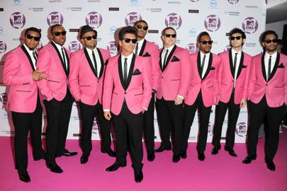Bruno Mars (and his entire band)