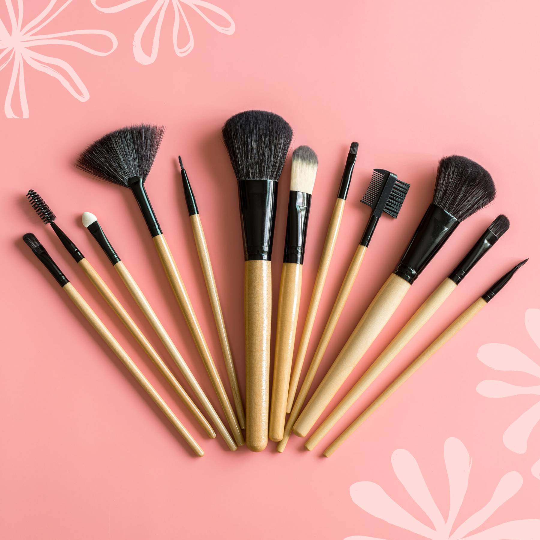 Best Makeup Brushes 2020 Best Brushes For Eyes Face Glamour Uk