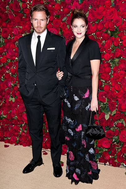 April: Drew Barrymore and Will Kopelman