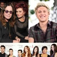 Niall Horan, Kardashians & The Osbournes
