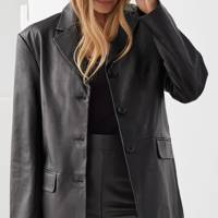 Best leather blazer