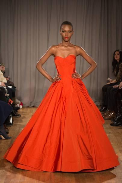 Zac Posen &amp Red dress - Predictions - New York Fashion Week ...