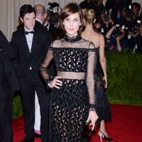 Alexa Chung at the Met Gala