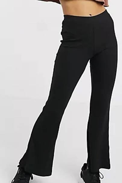 Petite flared leggings
