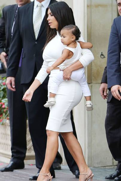 Kim Kardashian & North West