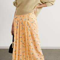 BEST PLEATED SKIRTS: FLORAL