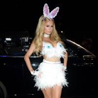 Paris Hilton as a Bunny Rabbit