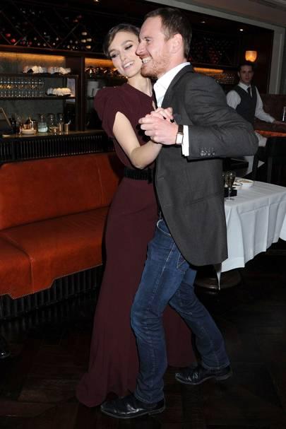 Keira Knightley & Michael Fassbender