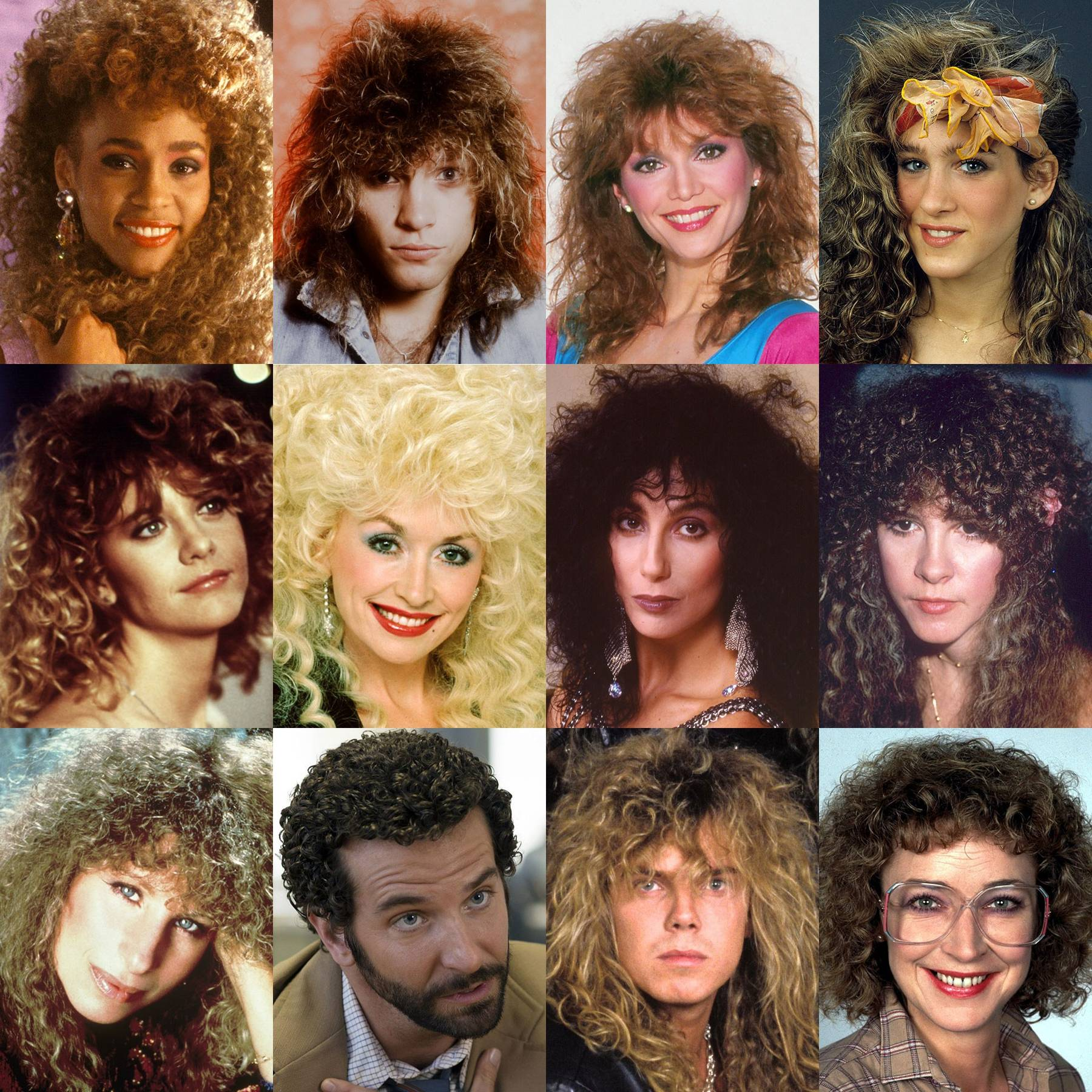 Iconic Perms Famous 80s Perms Glamour Uk