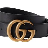 10. The leather Gucci belt