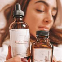 Balasana Cleanser and Warrior Tonic by Sono Essence