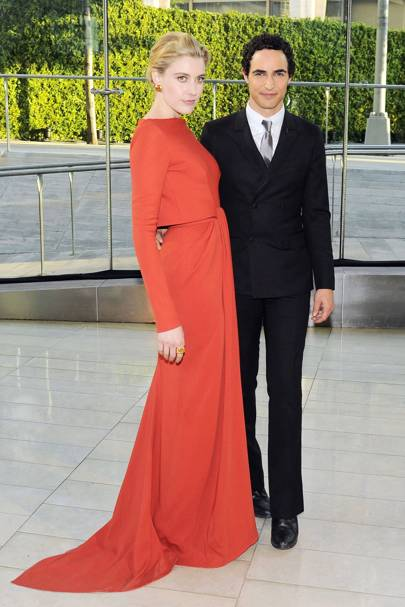 Greta Gerwig & Zac Posen