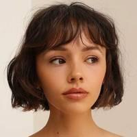French-girl fringe