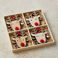 Best Christmas decorations: the Rudolph baubles
