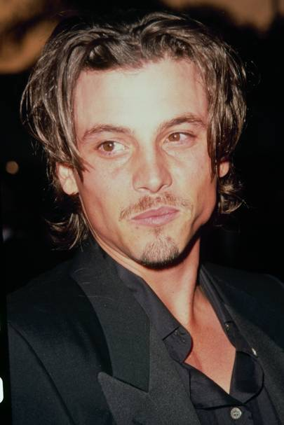 Curtains hairstyle 2015: Mens hair celebrity pictures 90s | Glamour UK