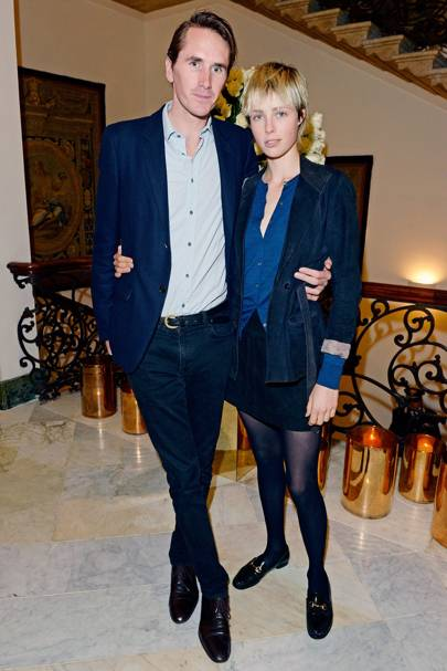 Edie Campbell & Otis Ferry