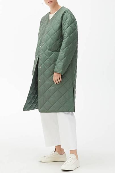 Best winter coat quilted