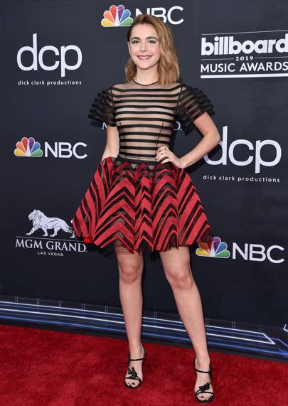 Kiernan Shipka in a Christian Dior dress