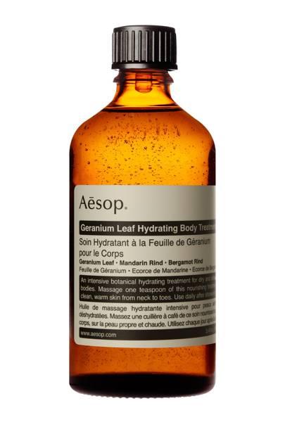 Aesop - Body Treatment Oil – Breathless, £23 for 100ml