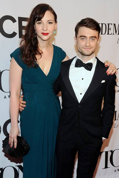 Daniel Radcliffe and girlfriend Erin Darke cut casual