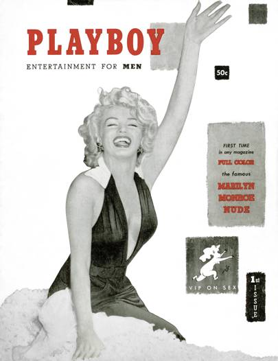 34 famous women who posed for Playboy
