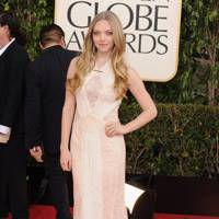 Amanda Seyfried at the Golden Globes