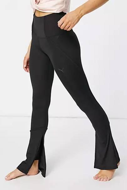 Flared leggings