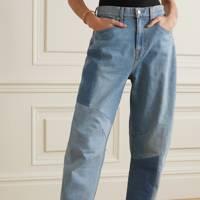 Best patchwork jeans